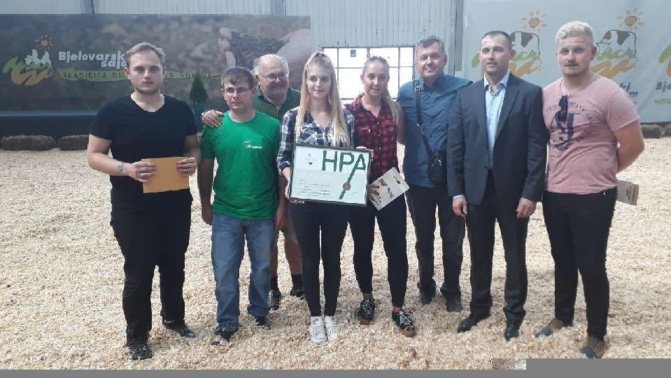 Studenti Visokog gospodarskog učilišta u Križevcima osvojili 1. mjesto u natjecanju mladih ocjenjivača vanjštine