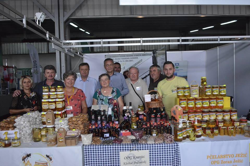FOTO Koprivničko-križevačka županija na 26. Jesenskom međunarodnom bjelovarskom sajmu