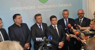 Radni posjet ministra mora, prometa i infrastrukture Koprivničko-križevačkoj županiji/G. Obran