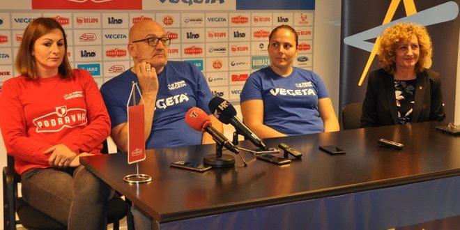 Tiskovna konferencija u povodu nadolazeće utakmice Lige prvakinja/G. Obran