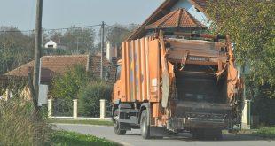 smetlarski kamion ilustracija