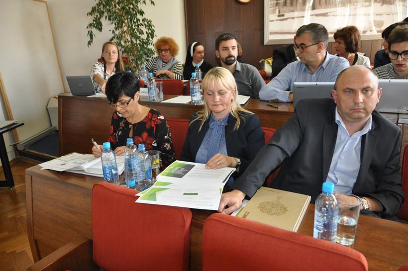 Nataša Tetec, Dubravka Horvat i Goran Međurečan, vodstvo Komunalca