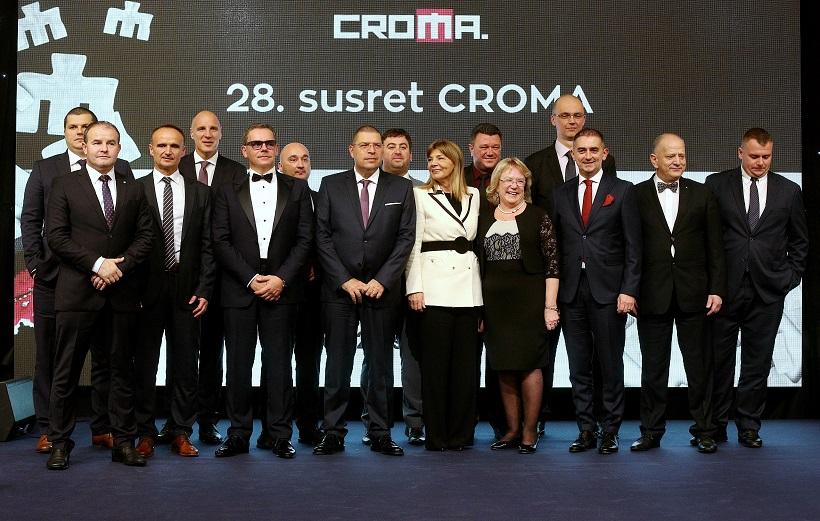 Održana dodjela nagrada i priznanja najboljim menadžerima i poduzetnicima CROMA 2018