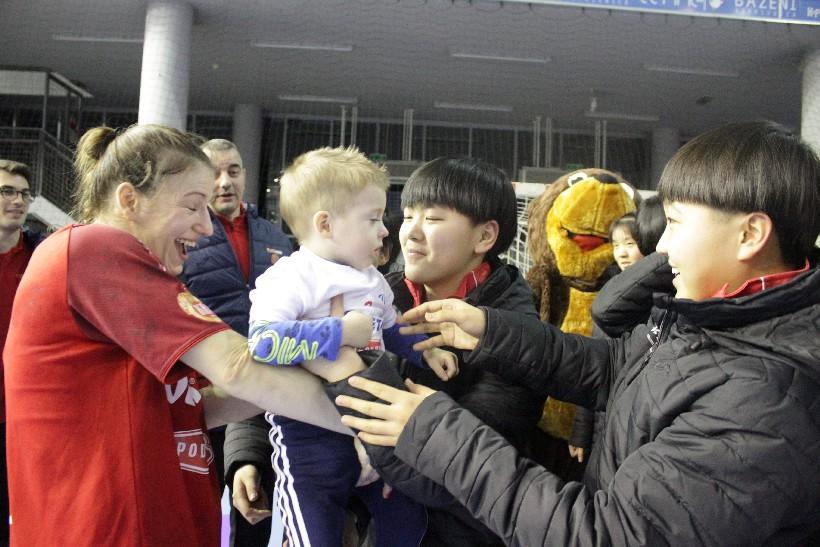 Kineski rukometaši i rukometašice na utakmici Podravka Vegete (3)