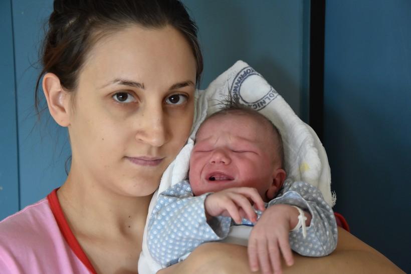 Antonia Kiš-Pali i sin Erik
