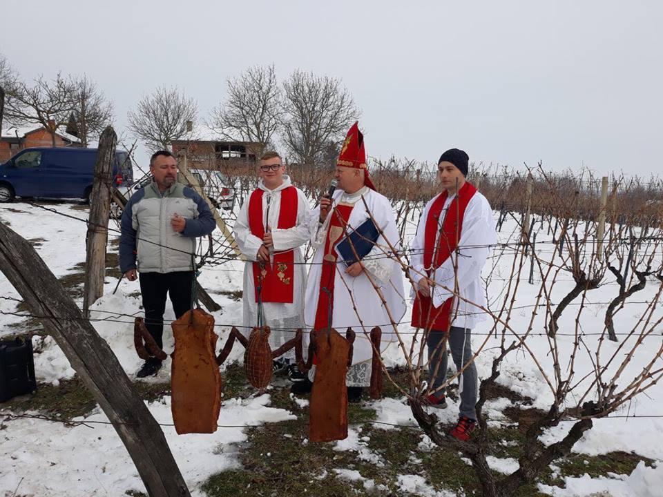 U DRAVSKIM PESKIMA U malom mjestu Kozarevac, održano tradicionalno Vincekovo