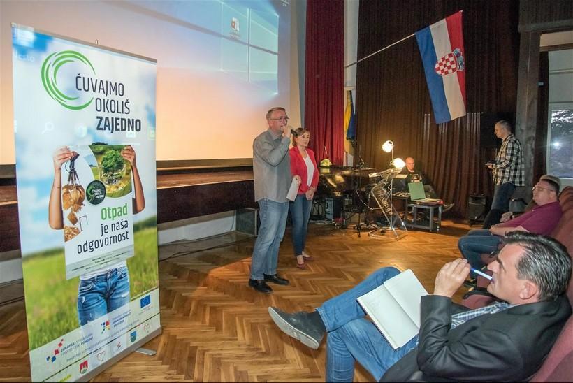 """Tribina i izložba radova """"Čuvajmo okoliš zajedno"""" u Čazmi"""