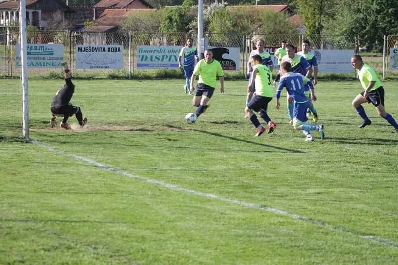 NOGOMET 2. ŽNL – 19. KOLO Reka izgubila u Bregima, a na poluvremenu vodila 2:0
