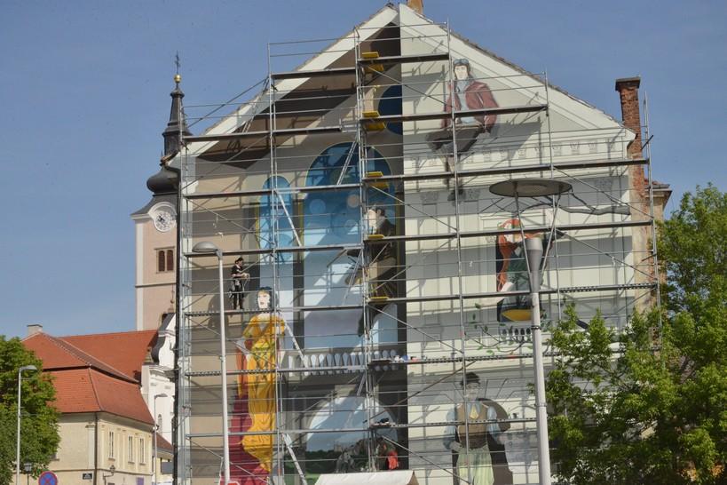 U srijedu obilježavanje Dana Grada Križevaca // Mural se oslikava i na Uskrsni ponedjeljak