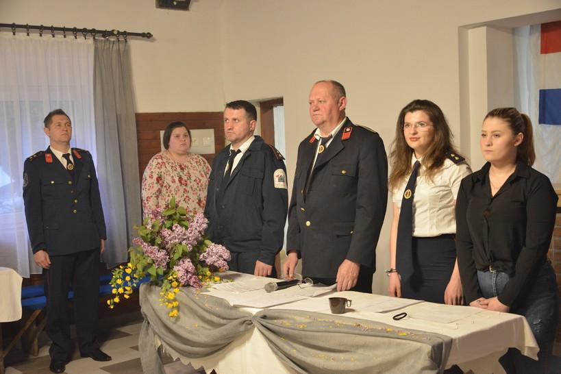 [FOTO] Dobrovoljno vatrogasno društvo Erdovec održalo redovnu godišnju skupštinu