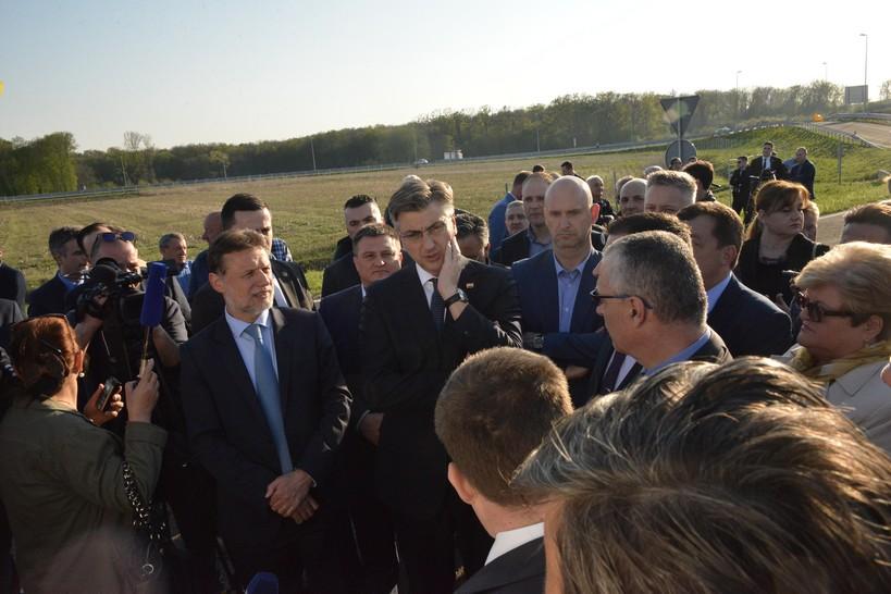 [FOTO/VIDEO] Državni vrh na otvorenju brze ceste prema Bjelovaru