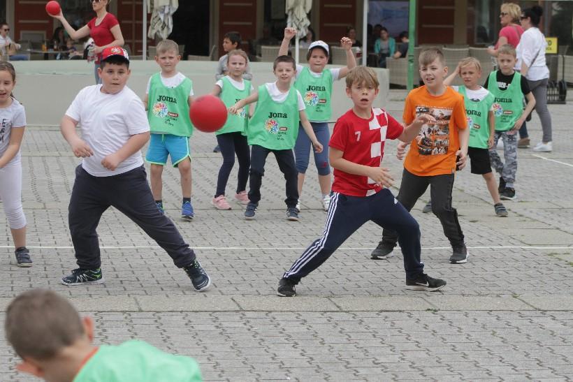 [FOTO/VIDEO] Plazma sportske igre mladih zagospodarile središnjim đurđevačkim trgom