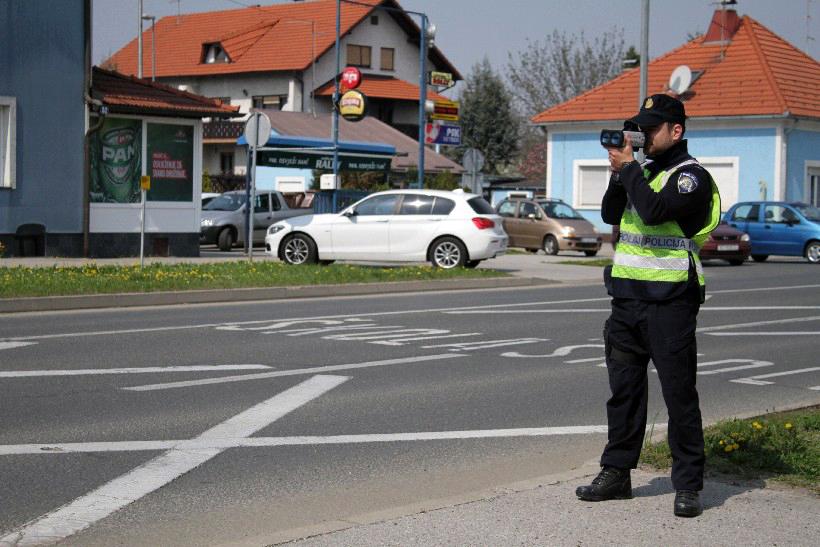 Nadzor brzine u Koprivničko-križevačkoj županiji