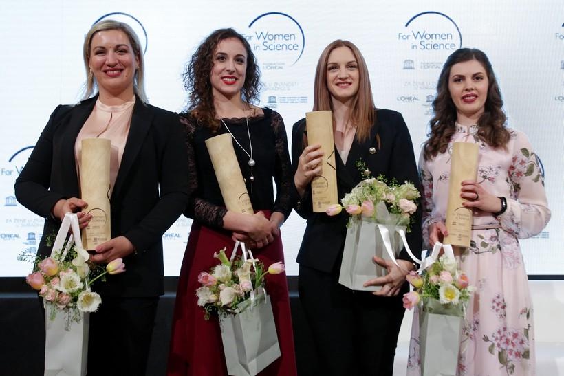 """Veliko priznanje // Četiri hrvatske znanstvenice postale nove stipendistice prestižnog programa L'Oréal-UNESCO """"Za žene u znanosti"""""""