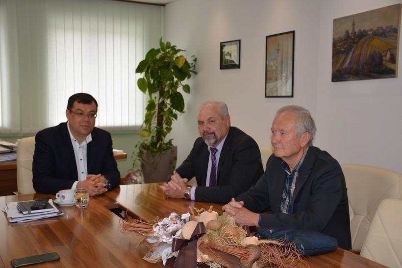 Susret župana Bajsa i predsjednika Hrvatske stranke umirovljenika Silvana Hrelje: