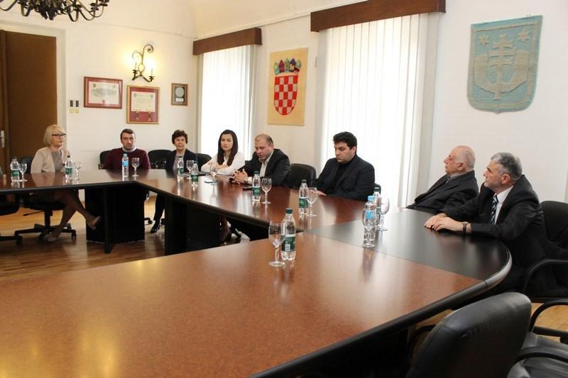 Marko Katanović održao prijem za dosadašnje predsjednike Gradskog vijeća Grada Križevaca