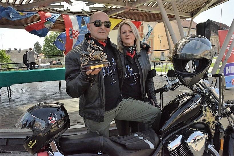 Dražen Lučki – najbolji križevački motociklist uživa na svojem Suzuki Boulevardu