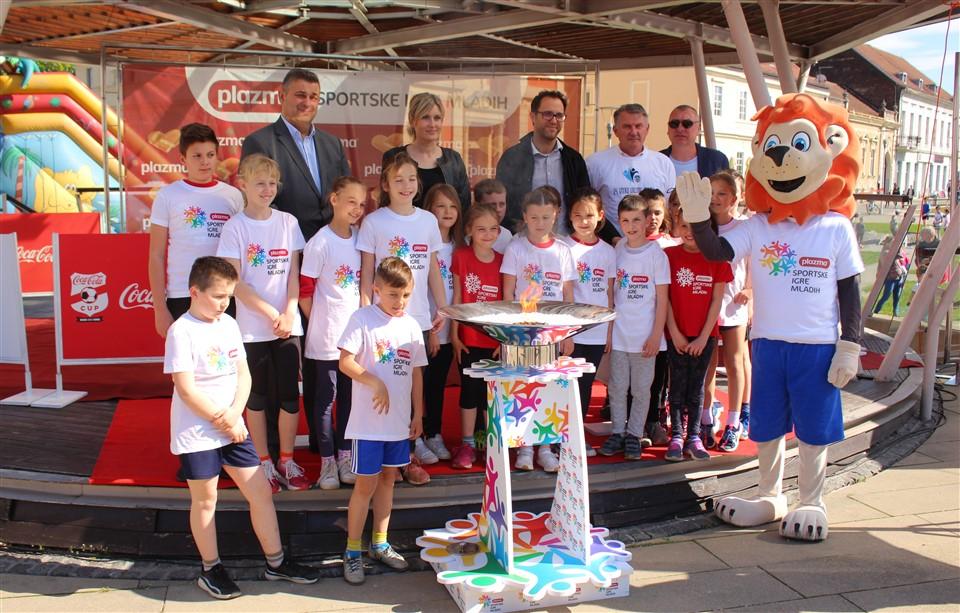 [FOTO/VIDEO] Turneja radosti Plazma Sportskih igara mladih i 24. Atletska utrka obilježili današnji dan u Križevcima
