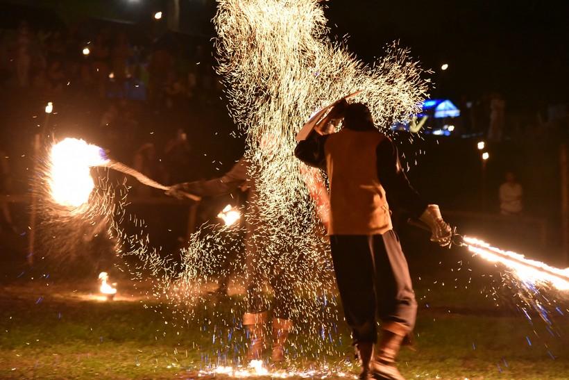 [FOTO/VIDEO] Spektakularnim vatrenim showom zatvoren 14. Renesansni festival