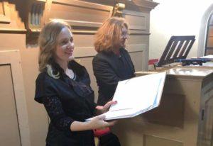 Križevčani Ana Fortuna  i Marko Đurakić u Virju održali koncert sakralne glazbe