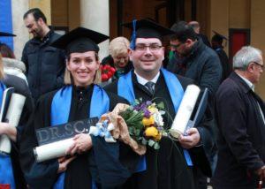 KRIŽEVCI DOBILI DVOJE DOKTORA ZNANOSTI Tihana Nemčić i Dejan Pernjak promovirani na Sveučilištu u Zagrebu