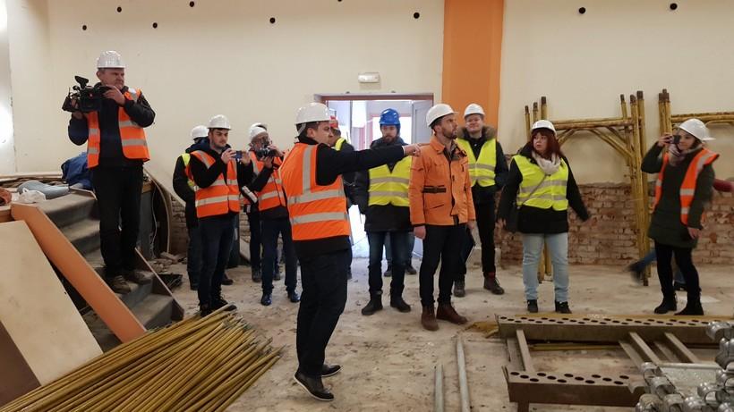 [FOTO] U Bjelovaru počela energetska obnova Doma kulture vrijedna gotovo 12 milijuna kuna