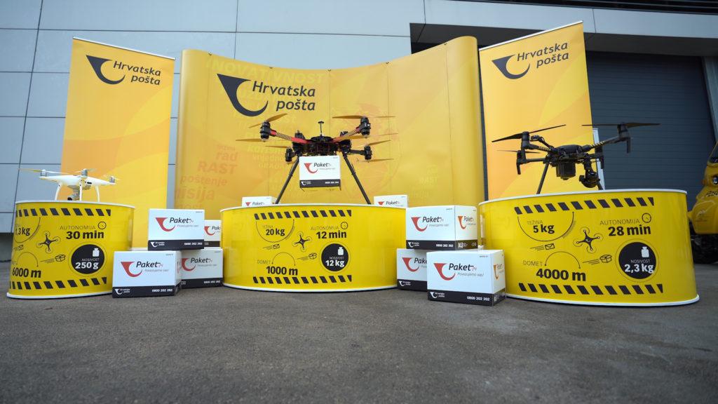 [VIDEO] Hrvatska pošta uspješno dostavila pošiljku dronom