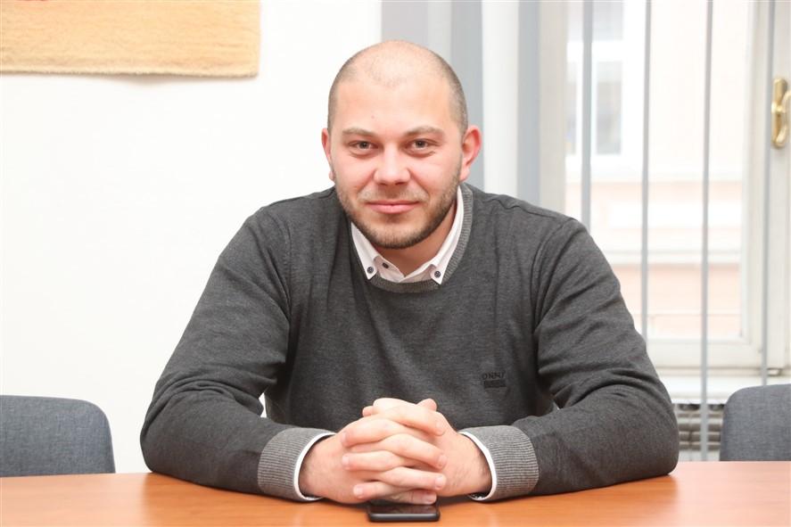 Marko Katanović, kandidat SDP-a za gradonačelnika Križevaca