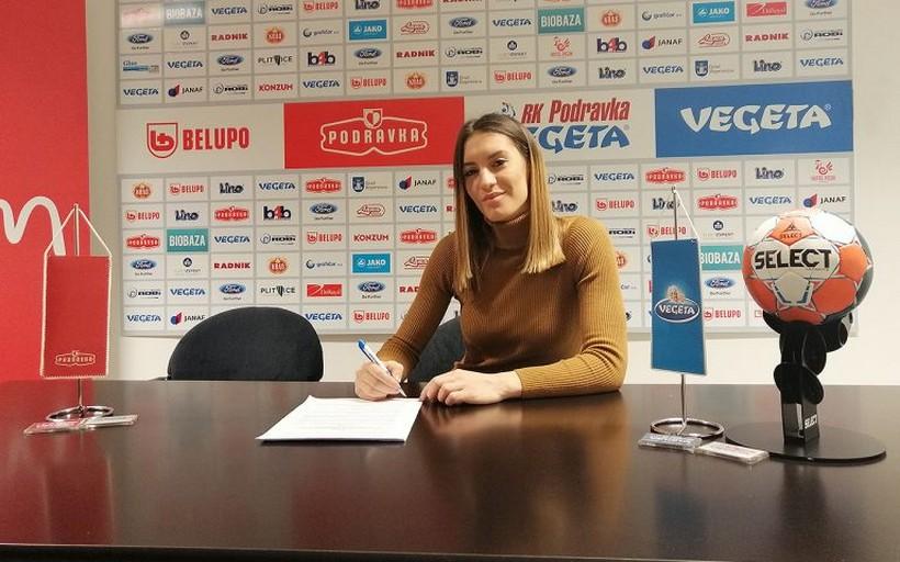 Dijana Mugoša, crnogorska ljepotica produljila vjernost RK Podravka Vegeti