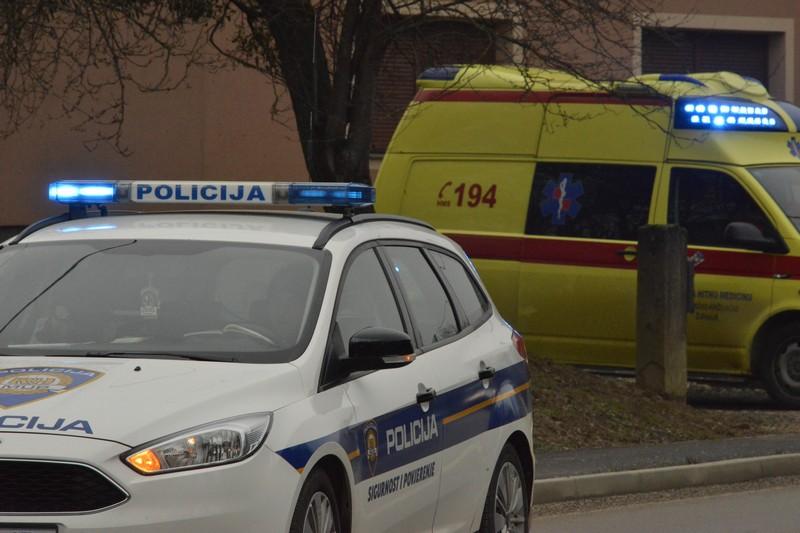 Vozačica u Križevcima udarila pješaka, još nije poznata težina ozljeda