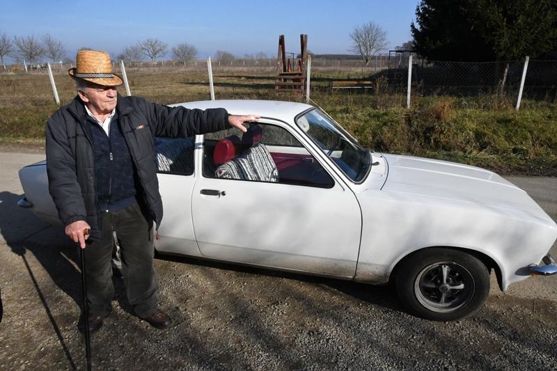 [VIDEO] Zdravko Thür vlasnik je starog Opel Kadetta iz davnih sedamdesetih godina