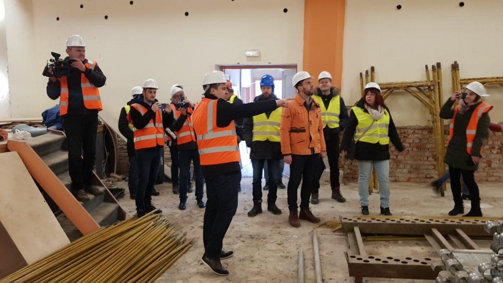 Počela obnova Doma kulture u Bjelovaru: 'Za čitavu obnovu objekta bit će potrebno oko 14 milijuna kuna'