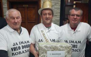 [FOTO] Zlatko Piškorić pobjednik je Kobasijade u Križevcima