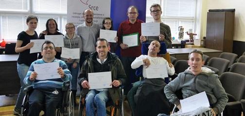 """U Svetom Ivanu Zelini održana prva edukacija za osobe s invaliditetom u okviru projekta """"Aktiviraj se, razvijaj se"""""""