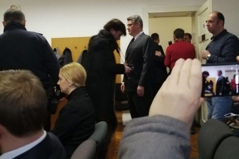 Izabrani predsjednik RH svjedočio na suđenju bivšem predstojniku njegova ureda Tomislavu Sauchi