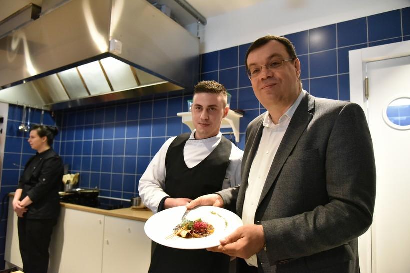 [FOTO/VIDEO] Župan Bajs sudjelovao otvorenju Gastro akademije u Garešnici: 'Ovo je novina koja je rijetka u Hrvatskoj'