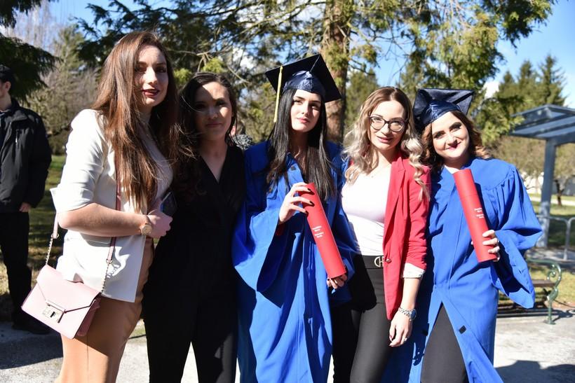 [FOTO] Ljepotice na svečanoj promociji na Sveučilištu Sjever u Koprivnici