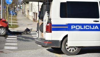 Mlada vozačica 'uletjela' u kružni tok i izazvala kaos