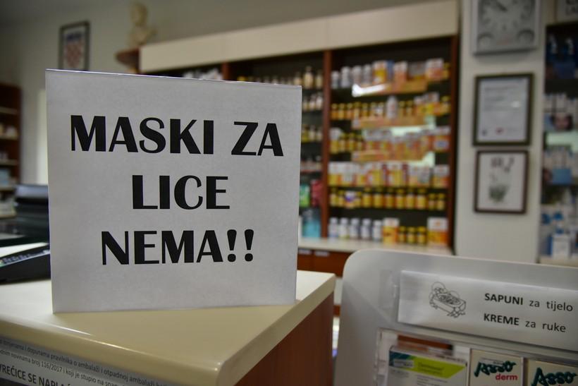 ISTRAŽILI SMO Kada će u Koprivnici opet biti dostupne maske za lice i koliko će koštati?
