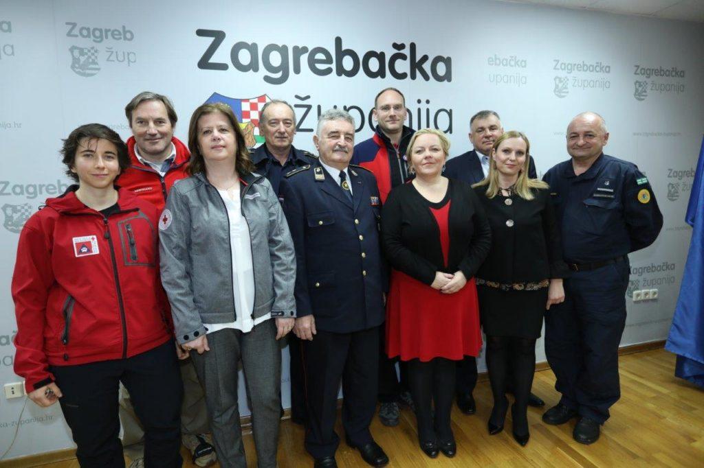 Zagrebačka županija: 4,2 milijuna kuna za snage civilne zaštite