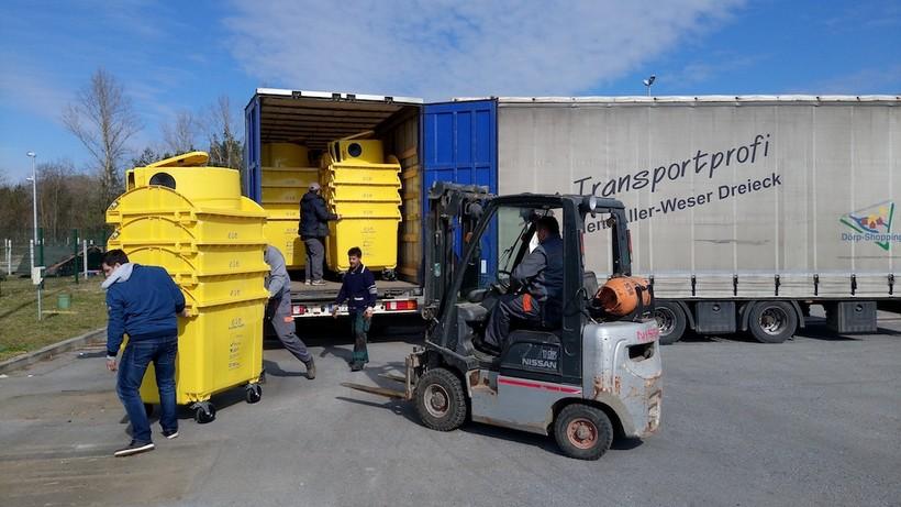 Građani Đurđevca sve više odvajaju otpad, a nabavljeno je i 250 novih kontejnera za odvojeno sakupljanje otpada