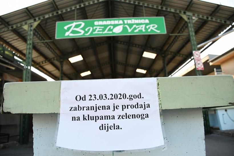 [VIDEO] Zatvorena bjelovarska Gradska tržnica