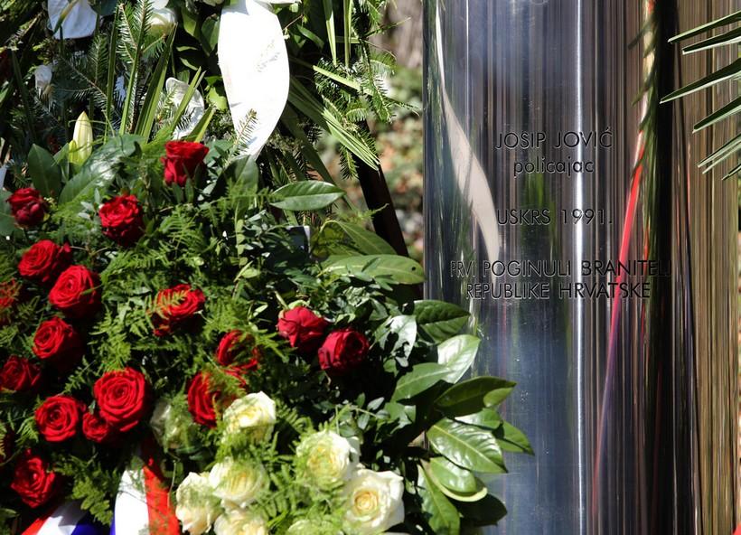 29. godina od pogibije Josipa Jovića i akcije Plitvice
