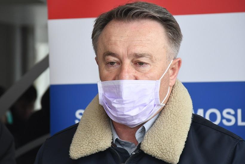 """Župan Žinić: """"Rekao sam policiji uđite imamo večeru i nakon večere smo se razišli i otišli kućama"""