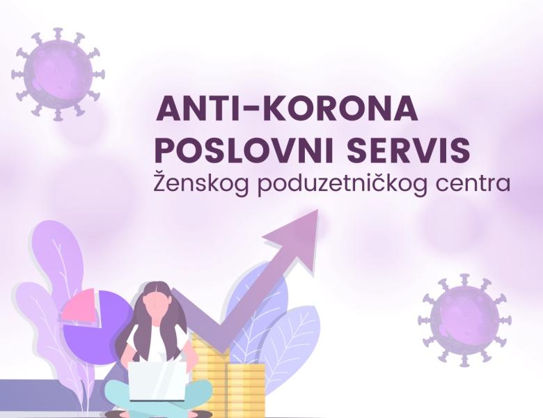 Pokrenut Anti-korona poslovni servis Ženskog poduzetničkog centra