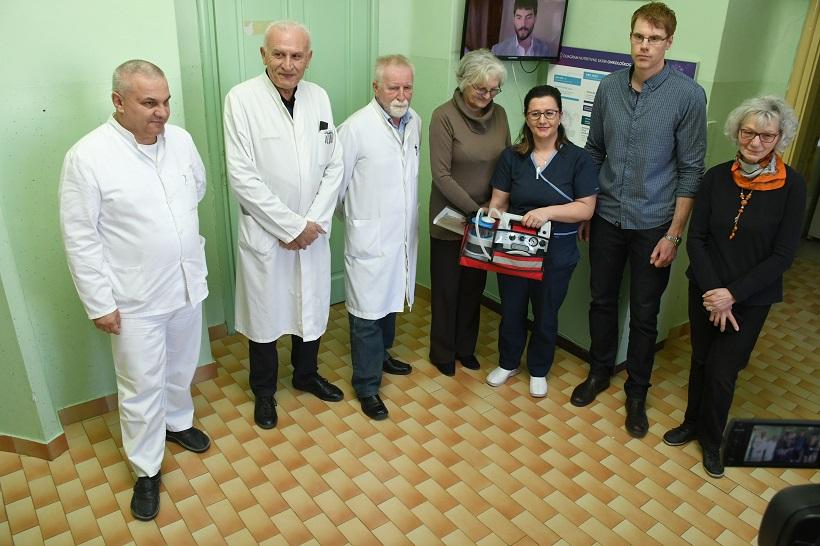 [VIDEO] Doniran prijenosni aparat za aspiraciju Općoj bolnici Bjelovar