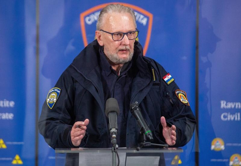 Davor Božinović: I dalje se nosimo s dvije krize istovremeno; Pozivam sve odgovorne službe da osiguraju sigurnost ljudi