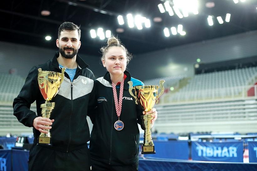 Andrej Gaćina i Andrea Pavlović prvaci su Hrvatske u stolnom tenisu