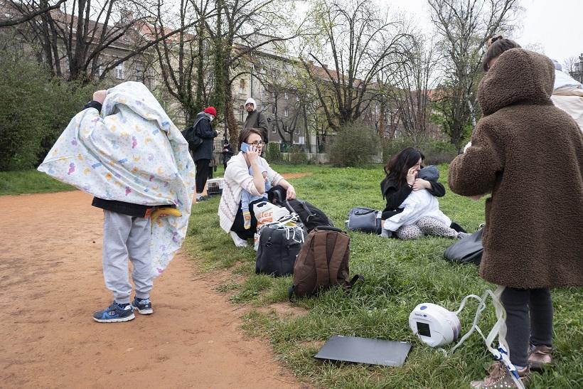 Oštećena i dječja bolnica u Klaićevoj