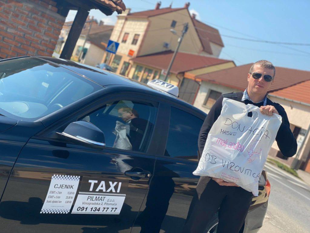 Supružnici iz Podravine inicirali humanitarni pokret: 'Odlučili smo pokloniti svakoj bolnici u Hrvatskoj 200 višekratnih pamučnih maski'